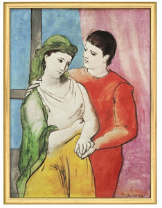 "Pablo Picasso: Bild ""The Lovers"""