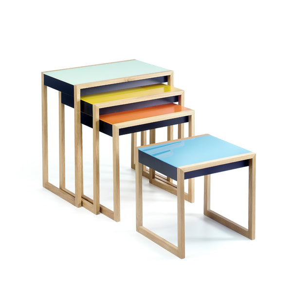 Nesting Tables by Josef Albers - Bild 1