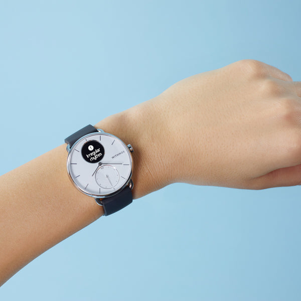 Withings ScanWatch 42 mm white