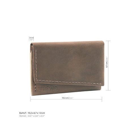 Wallett Mia, Brown