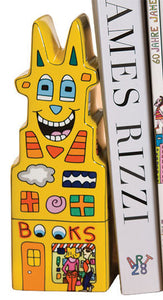 "James Rizzi: Buchstütze ""Books to my Left"" - Bild 1"