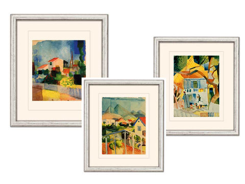 August Macke: 3 Bilder im Set - Bild 1