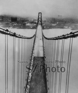 Ambassador Bridge Detroit 1929 - Bild 1