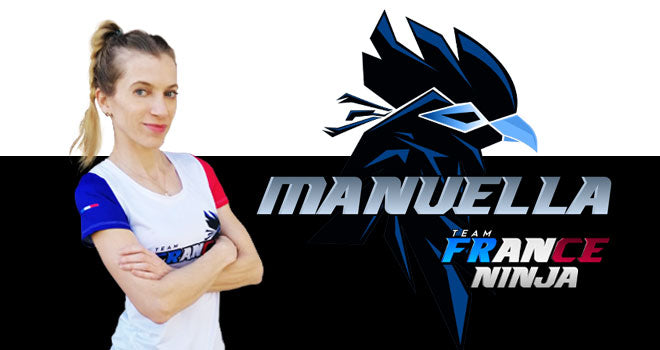 Manuella Mallem Ninja Team France - Maillot officiel Équipe de France FullFull®