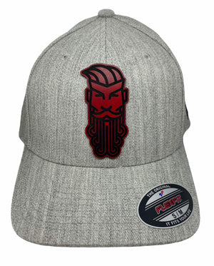 Flex Fit Hat W/Leather Patch