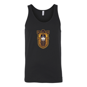 Men's The Bearded Mack Tank W/ Hat Logo