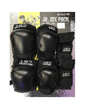 187 Killer Pads - Junior Six Pack Pad Set (Knee/Elbow/Wrist)