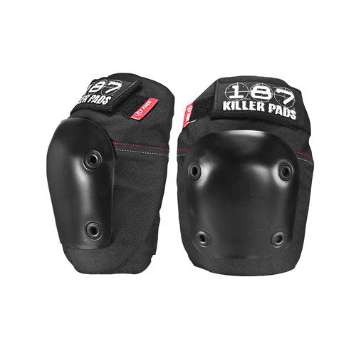 187-fly-knee-pads-black Switchback Longboards