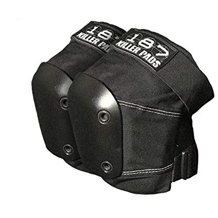 187-slim-knee-pads-black Switchback Longboards