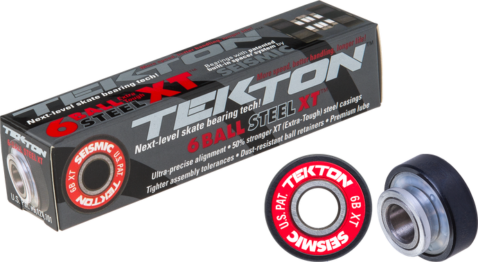 Seismic Skate - Tekton 6-Ball XT Built-In Bearings