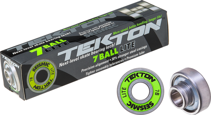 Seismic Skate - Tekton 7-Ball LITE+ Built-In Bearings