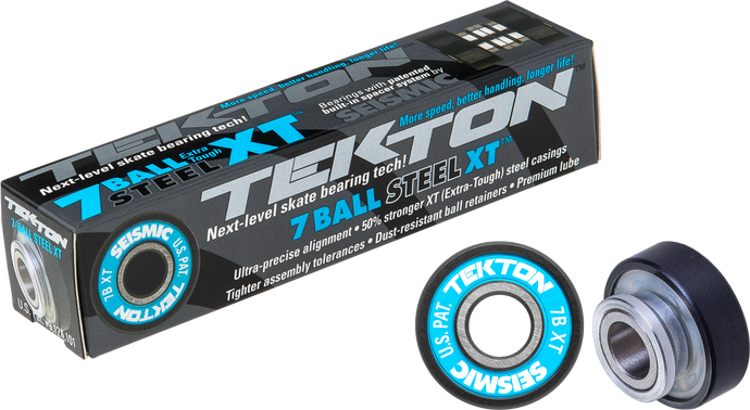 Seismic Skate - Tekton 7-Ball XT Built-In Bearings
