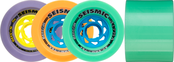 Seismic Skate - Alpha Wheels 80.5mm x 60mm Defcon - DH/Race