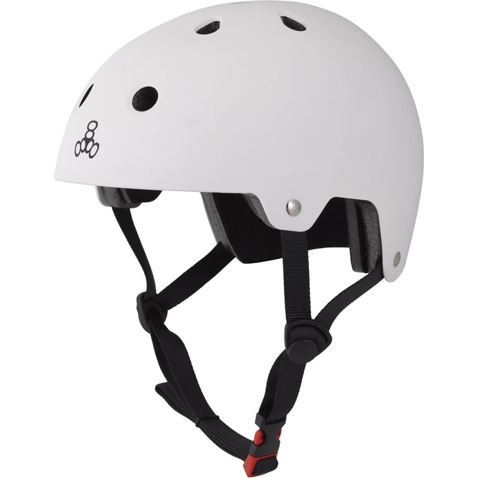 triple-8-brainsaver-dual-certified-helmet-w-eps-liner-matte-white Switchback Longboards