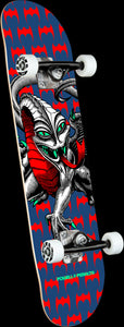 "Powell Peralta - Cab Dragon Skateboard Complete 7.5"" - Navy"