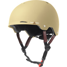 triple-8-gotham-dual-certified-helmet-matte-cream Switchback Longboards