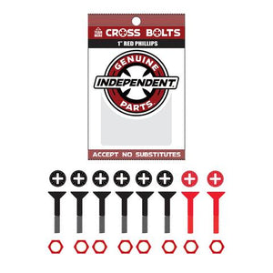 Independent Trucks - Cross Bolts Phillips Hardware - Multiple Sizes