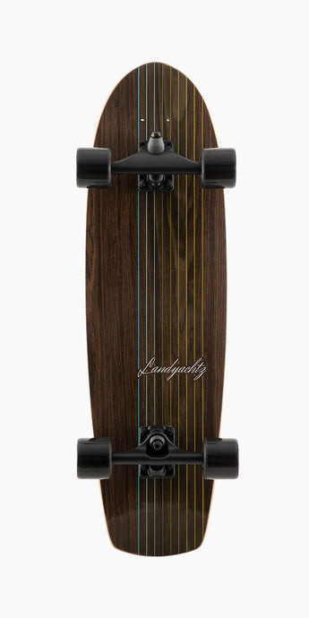 Landyachtz - Butter Knife Surf Skate - Walnut Lines