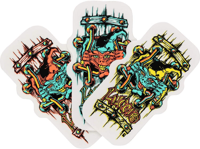 Black Label Skateboards - John Lucero Sticker
