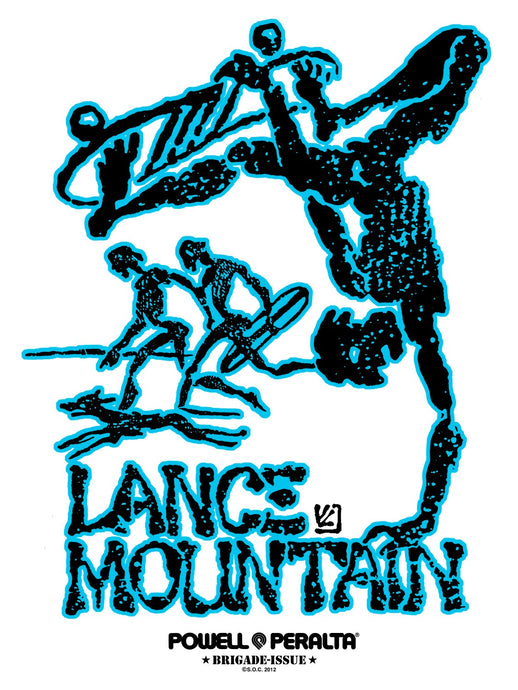 Powell Peralta - Lance Mountain Future Primitive Sticker