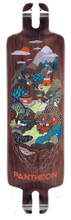 "Pantheon Longboards - Trip Indian Hills Fiberglass LDP Deck - 33"" x 9.25"""