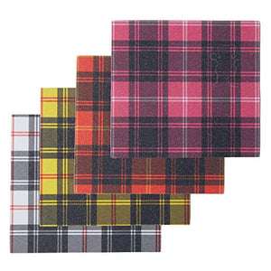 Grizzly Grip - Mini Plaid Grip Sheets - 4 Pack