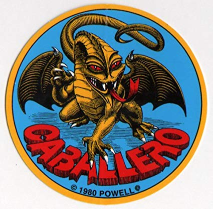 Powell Peralta Caballero Dragon Circle Sticker