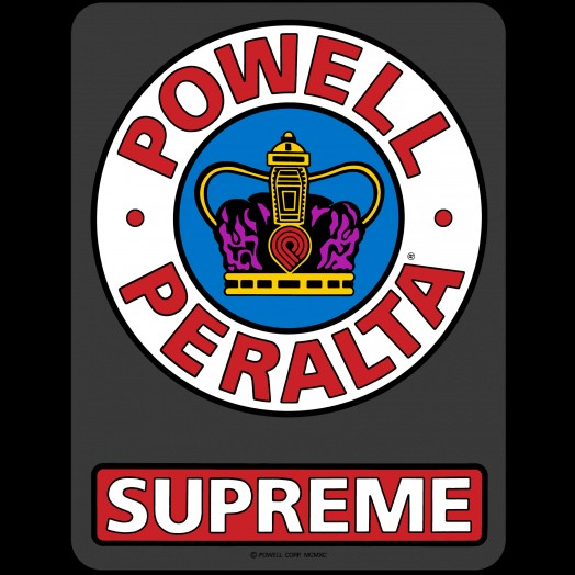 Powell Peralta - Supreme Ramp Sticker 12
