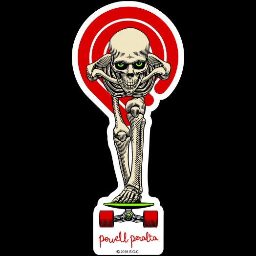 Powell Peralta Tucking Skeleton Sticker