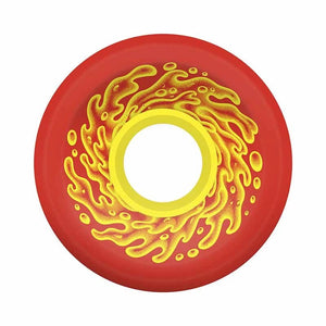 Santa Cruz - Slime Balls OG Wheels 60mm/78a - Red/Yellow