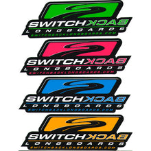 "Switchback Longboards Stickers - 6"" x 2"""