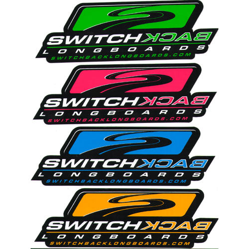 Switchback Longboards Stickers - 6