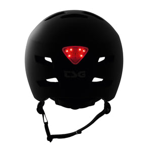 TSG - Status Helmet - Satin Black - Removable Light
