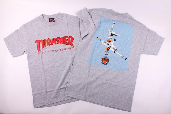 Thrasher x Independent - Exploded View T-Shirt