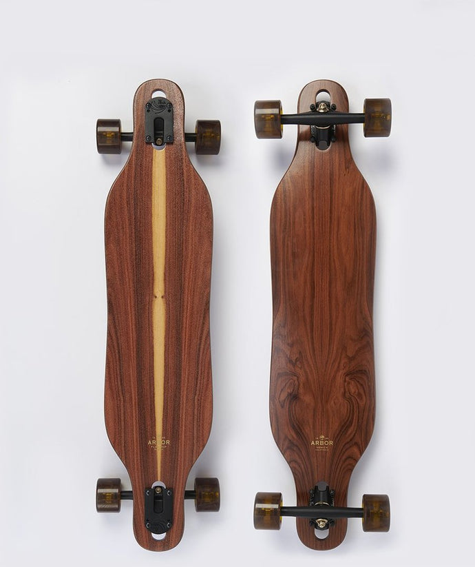Arbor  - Drop Thru Flagship Axis Longboard Complete - 37