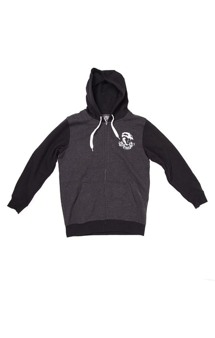 landyachtz-bear-zip-up-hoodie-black-and-grey Switchback Longboards