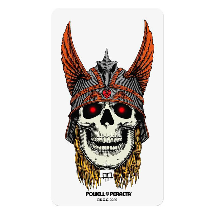 Powell Peralta - Andy Anderson Birdhouse Skull Sticker