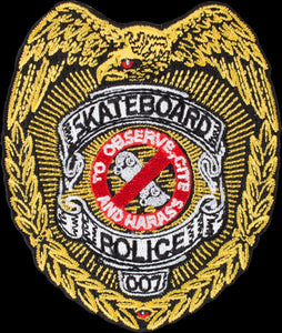 powell-peralta-skateboard-police-patch Switchback Longboards