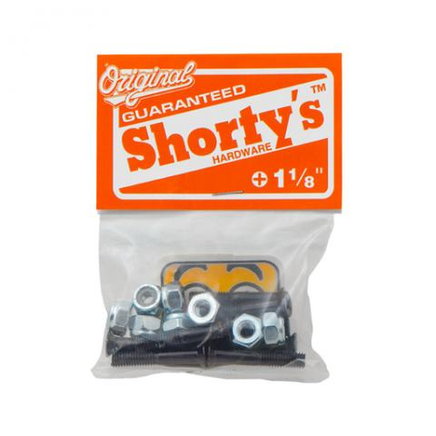 Shorty's - Skateboard Hardware Sets - Black