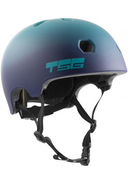 TSG - Meta Certified Helmet - Satin Cauma Grape