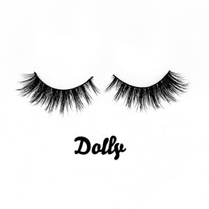 Dolly Siberian Mink Fur Lashes - Shop Glam Fairy
