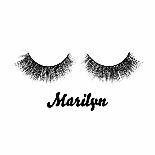 Marilyn Siberian Mink Fur Lashes - Shop Glam Fairy