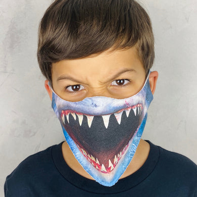 Shark Lightweight Animal Mask - Shop Glam Fairy