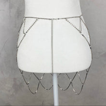 Load image into Gallery viewer, Sasha Poolside Rhinestone skirt - Shop Glam Fairy