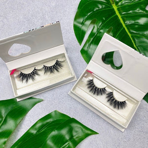 2- 3D Mink glamour eyelash strips lash bundle - Shop Glam Fairy