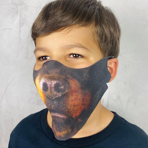 Rottweiler Lightweight Animal Mask - Shop Glam Fairy