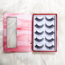 Load image into Gallery viewer, 5 pairs of the Love lash - Shop Glam Fairy