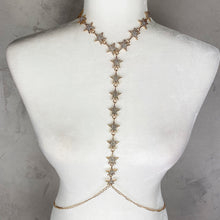 Load image into Gallery viewer, Gold & Silver Star Fashion Body Chain Jewelry - Shop Glam Fairy