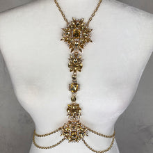Load image into Gallery viewer, Gold & Yellow Body Chain Jewelry - Shop Glam Fairy