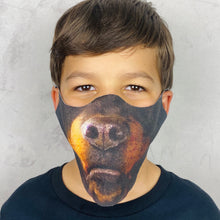 Load image into Gallery viewer, Rottweiler Lightweight Animal Mask - Shop Glam Fairy